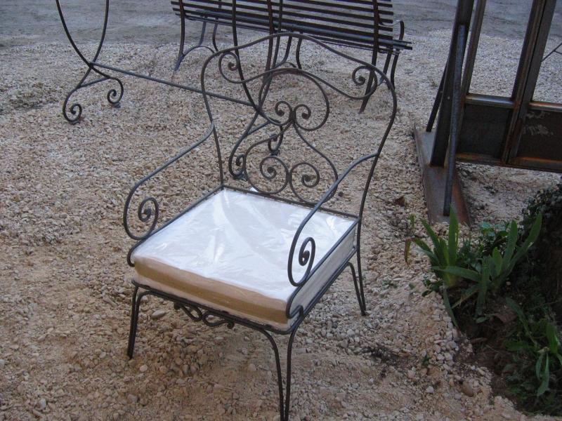 Mobilier fer Forgé Table fer forgé Fauteuil Transat Avignon Nîmes ...