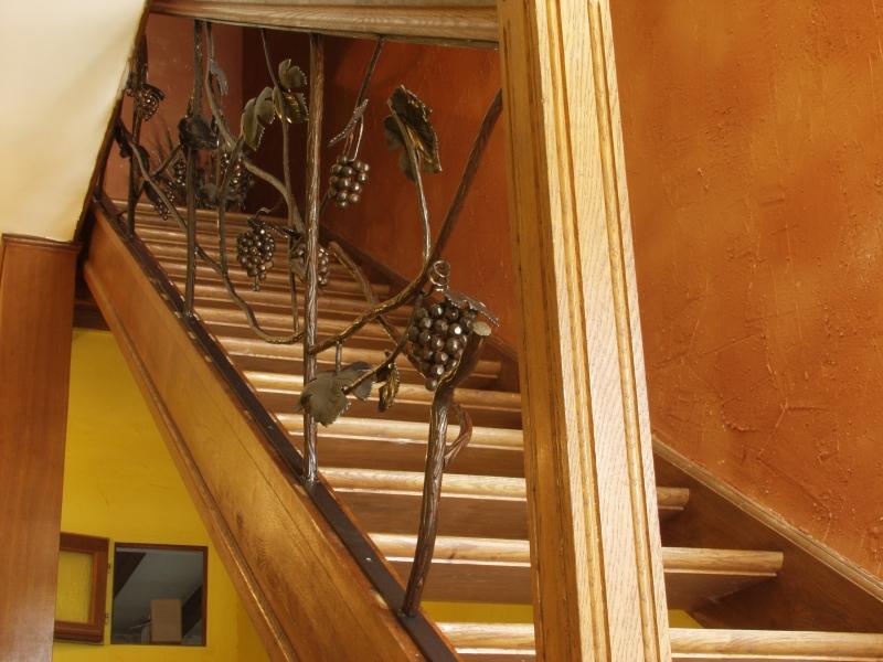 rampe d 39 escalier fer forg avignon n mes uz s sorgues orange 30 84 gard vaucluse. Black Bedroom Furniture Sets. Home Design Ideas